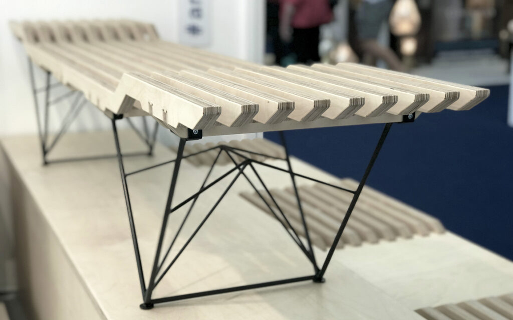 As furniture designers we love to experiment with materiality and technology to produce different furniture.