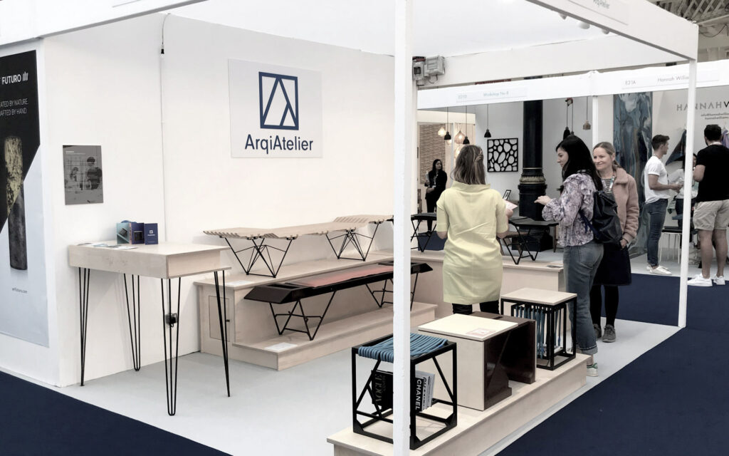 As furniture designers we value the opportunity to showcase our furniture and to connect with professionals of other fields