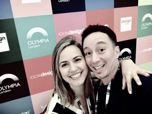 Lucia and Chris, Arqiatelier at 100% Design 2019