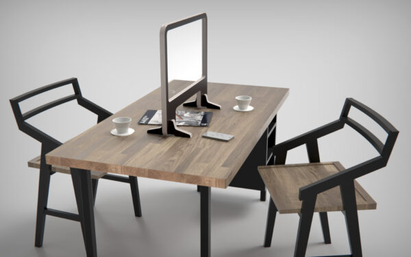Covid Screen Opening Table Top